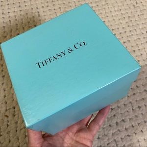 """TIFFANY & Co Authentic Gift Box Large5""""square cube"""